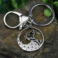 tkuamigo metal inspired nordic viking wolf keychains wolves memorial anniversary vikings gifts for him whole a224