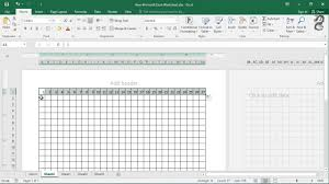 Turn Excel Into Graph Paper How To Make Graph Paper In Excel Youtube