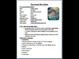 how to make bio data format how to make bio data in microsoft word tutorial ii nepali mentor ii