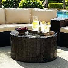 round rattan coffee table. Round Wicker Coffee Table Custom Storage White With Glass Top . Rattan