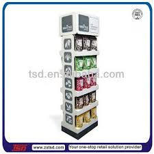 Coffee Shop Display Stands TSDC100 Retail stoe high quality floor standing coffee retail 20