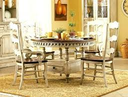 5 piece dining room set 5 piece round dining table with three rung back chairs in