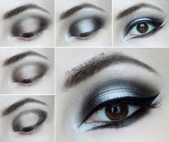 gothic makeup step by step tutorial dramatic dark smokey eyes
