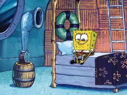 ... Image 2 : Background Bed Time Cel Spongebob Original Animation