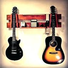 wall mounted guitar holders wall guitar mount horizontal guitar wall mount display rack wood stand made wall mounted guitar