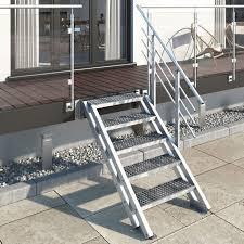 Eine treppe mit treppengeländern aus holz selber bauen ist etwas ganz besonderes, da der werkstoff einen ganz eigenen charme hat. Verzinkte Stahl Aussentreppen Treppenbau Bad Salzflen