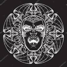 Lilith эскиз на гранж фон векторное изображение Aenseidhe
