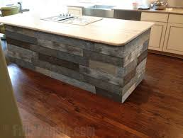 Kitchen Island Panels Island Back Panel Treatments