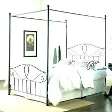 Rod Iron Beds Queen Rod Iron Canopy Bed Black Rod Iron Bed Wrought ...