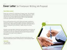cover letter for freelancer writing job