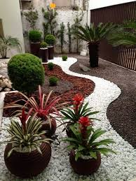 Desert Backyard Designs Cool Garden Design Ideas With Pebbles Yard Pinterest Garden Yard