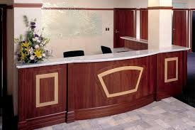 office counter tops. 1 - This Classy Reception Features Carrara Marble Countertops And Solid Timber Jarrah Panelling With Feature Office Counter Tops