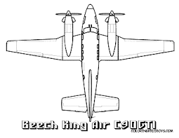 Airplane Coloring Page - Bestofcoloring.com