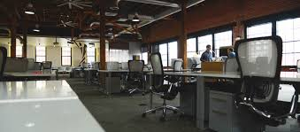 open concept office space. Open Office Model Concept Space T