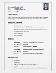 Muhammad Shoaib Javed: My Curriculum Vitae (Cv)