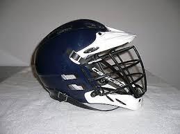 Cascade Clh2 Lacrosse Helmet White Navy Whi Te Size S M New