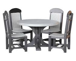4 foot round table with 4 regular chairs
