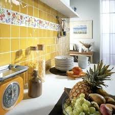 yellow kitchen tiles glamorous wall tiles with crystals bring luxurious bathroom decorating ideas into modern homes