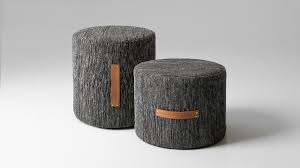 cutest poufs for modern living rooms indoor and outdoor