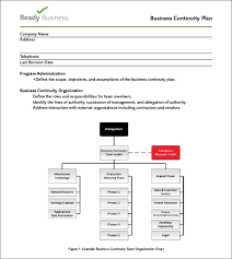 Business Continuity Plan Templ