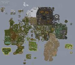 tipit runescape help  full world map  the original runescape