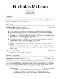Sample Pastoral Resume Beauteous Pastor Resume Examples From Youth Minister Resume Pastor Resume