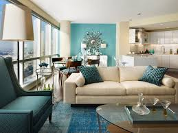 ... Moroccan Living Room Furniture Contemporary Blue Color Schemes With  White Fabric Arms Lounge Sofa Simple Carpet ...
