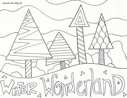 Small Picture Winter Wonderland Coloring Pages zimeonme