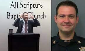 Sheriff's detective preaches that ...