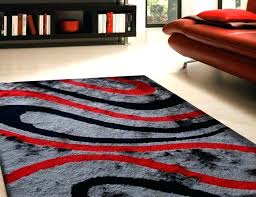 red rug runner awesome gray and red rug large size of area outstanding red black and
