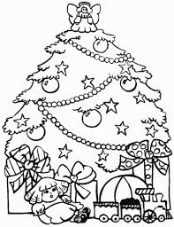 Printable Christmas Tree Coloring Pages In Of Trees In Page - glum.me