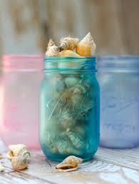 Glass Jar Decorating Ideas Sea Glass Mason Jars Take 100 Mason Jar Crafts Love 97