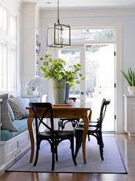 traditional banquette wth window seat