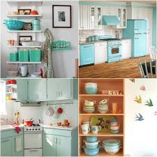 Turquoise Kitchen Decor Diy Retro Kitchen Winda 7 Furniture