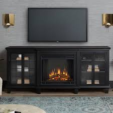marlowe entertainment unit electric fireplace tv stand