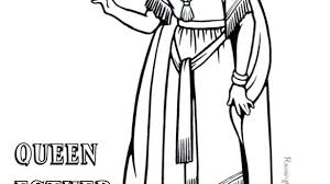 Queen Esther Coloring Pages With Reynaudowin