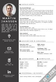 german resume template 25 best creative cv template ideas on ...