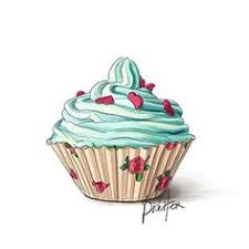 vintage cupcakes drawing. Modren Cupcakes Illustrations Drawing Macarons Cupcakes 477 Briosches Pins And Cupcakes  Pinterest On Vintage In Vintage Cupcakes Drawing K
