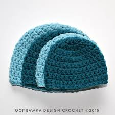 Crochet Beret Pattern Beauteous Simple Double Crochet Hat Pattern Oombawka Design Crochet