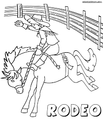 Small Picture Rodeo coloring pages Coloring pages to download and print