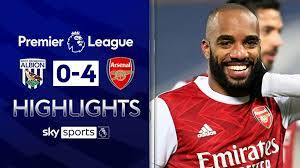 June 14, 2021 1:30 pm West Brom 0 4 Arsenal Alexandre Lacazette Double As Gunners Win Third Successive Premier League Game Football News Sky Sports
