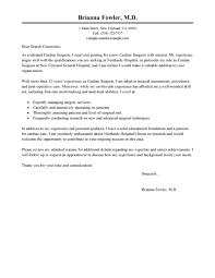 Leading Professional Surgeon Cover Letter Examples Resources