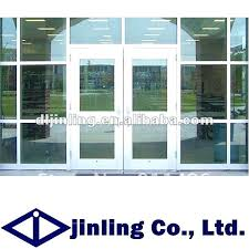 double glass door aluminum commercial double glass doors aluminum glass double entry doors commercial glass entry