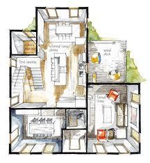 Color House Floor Plans  floor plan colored sketches   Friv GamesReal Estate Floor Plan Color