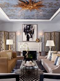wallpapered office home design. Beautiful Chinoserie Wallpaper To Make Room In Your Home Look More Classy : Eclectic Living Wallpapered Office Design