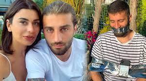 Ebru Şancı, futbolcu eşi Alpaslan Öztürk'ü sandalyeye bantladı; Aile  Bakanlığı'ndan yardım istedi