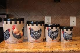 ceramic rooster kitchen decor