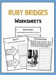 Ruby Bridges Facts, Worksheets & Historical Biography For Kids