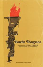a round up of chuck palahniuk s upcoming projects the cult burnt tongues an anthology of transgressive stories
