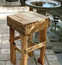 pallet outdoor bar wood